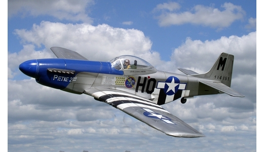 Mustang P51D - Cadillac of the Skies