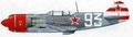 Lavochkin La7 Decal set -1/8th [Approx 1450mm Wingspan]