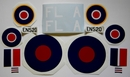 Spitfire FL-A EN520 Decal Set 1/8th [approx 1450mm Wingspan