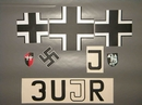 3UJR Decal Set